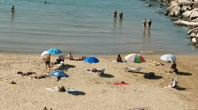 Spiaggia settembre 2021