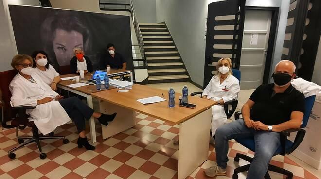 Vaccino night florenzano e direttore sanitario cb