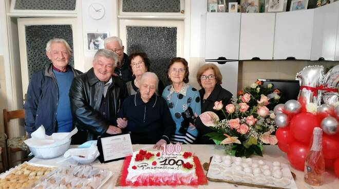 100 anni Pasqualina Campanelli