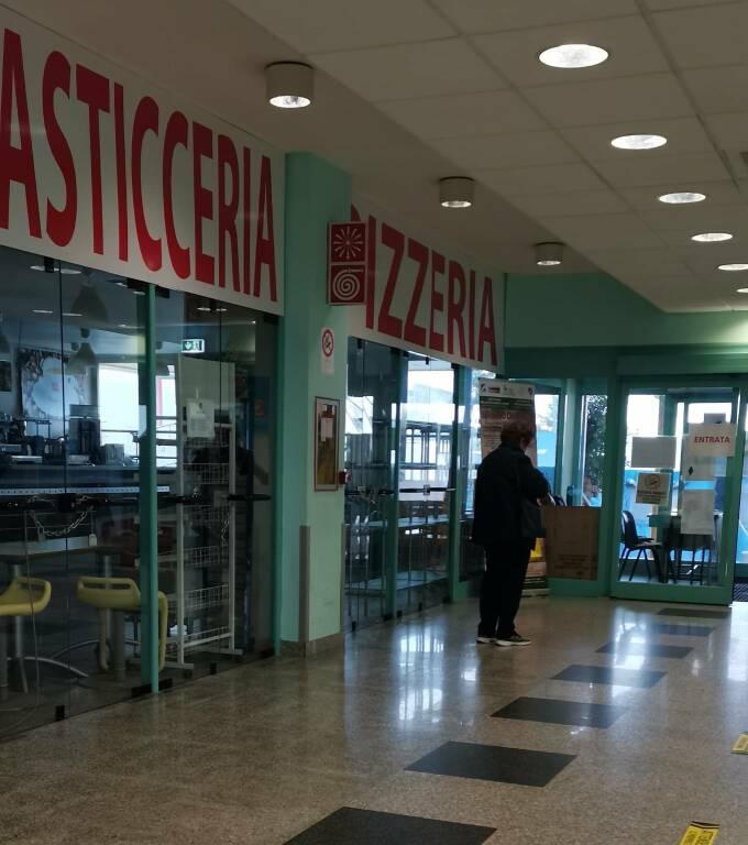 Bar ospedale chiuso