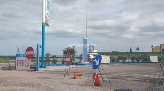 Distributore metano