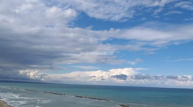 meteo mare nuvole