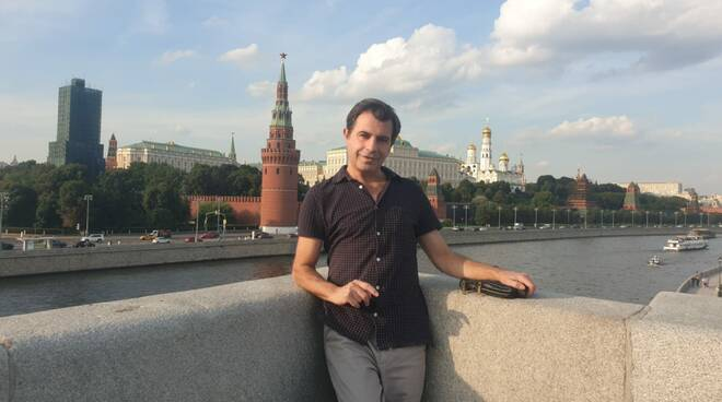 Federico Coccaro campobassano a Mosca