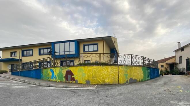 street art scuola barone baranello
