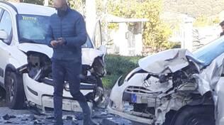 incidente vinchiaturo frontale auto