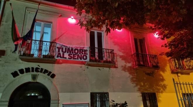 Municipio nastro rosa Guglionesi